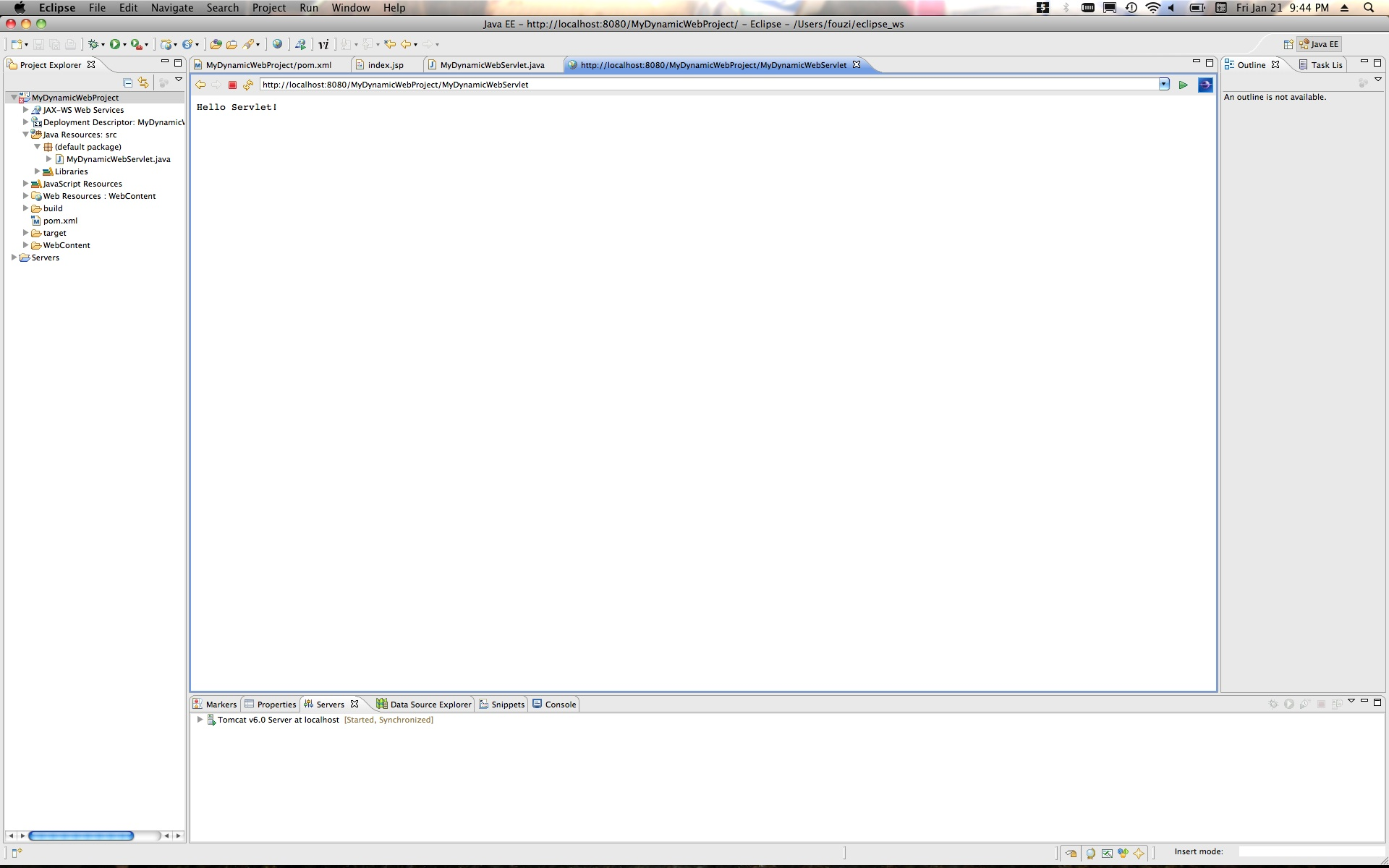 Getting an Eclipse Helios Dynamic Web Project working with Maven